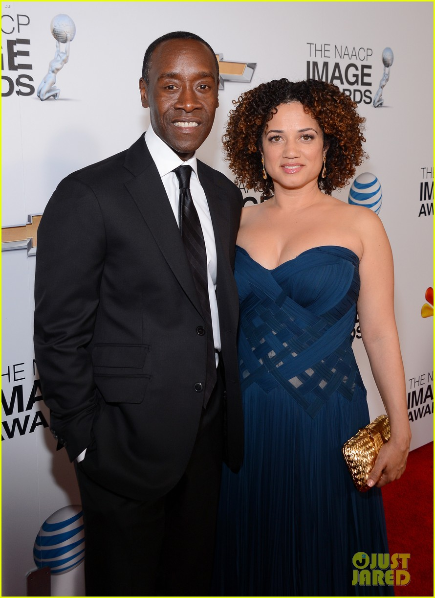 jamie foxx don cheadle naacp image awards 2013 11
