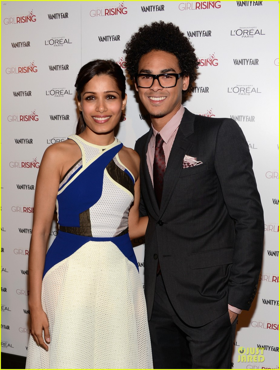 freida pinto dev patel 10x10 girl rising dj night 092815565
