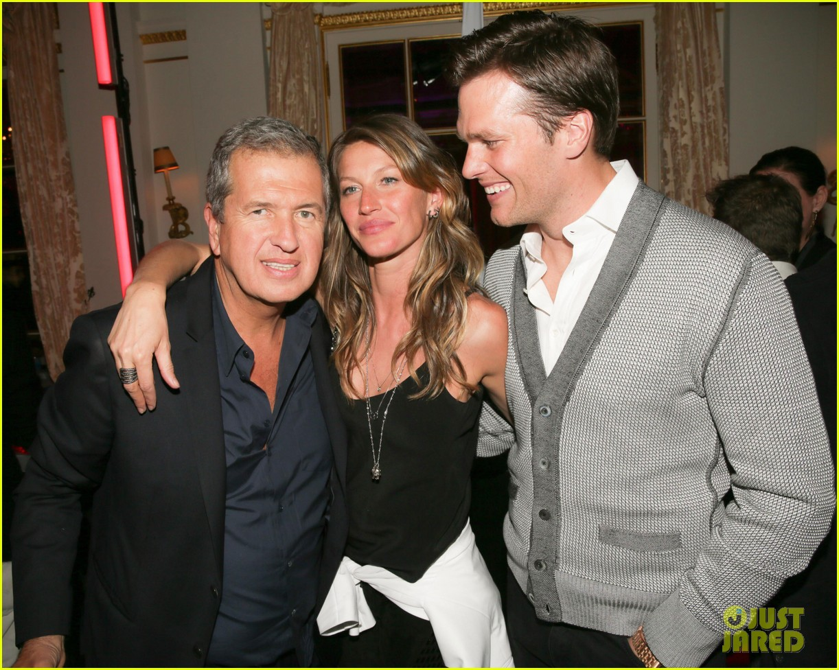 gisele bundchen tom brady mario testino exhibit party 022818655