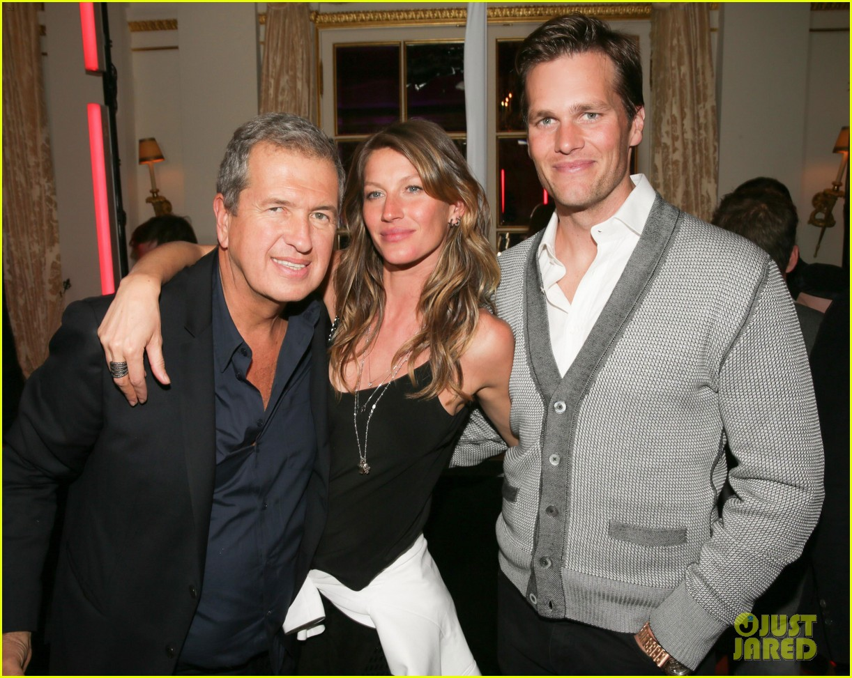 gisele bundchen tom brady mario testino exhibit party 07