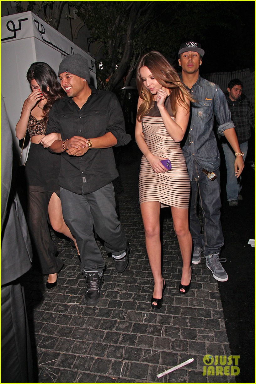 selena gomez post grammys party with alfredo flores 012809948