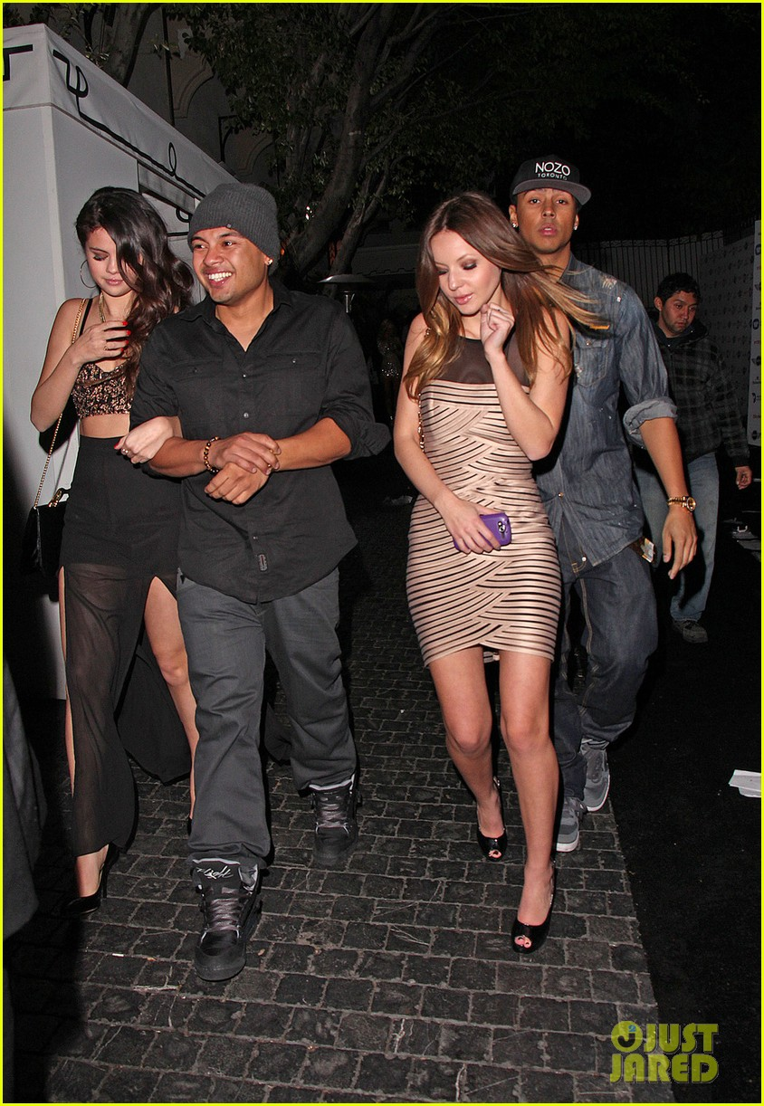 selena gomez post grammys party with alfredo flores 032809950