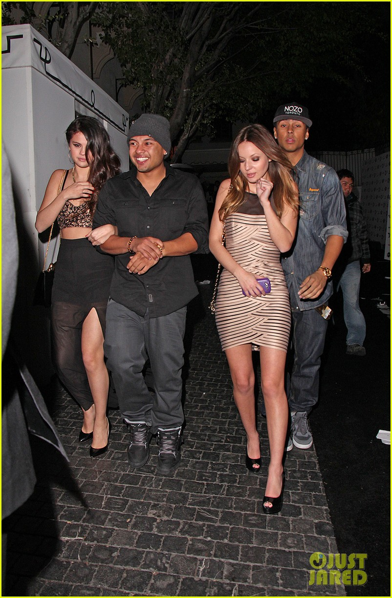 selena gomez post grammys party with alfredo flores 05