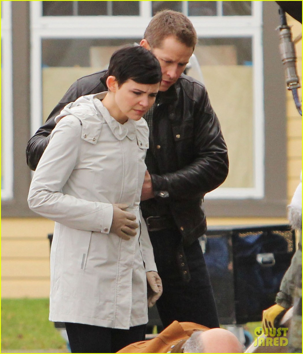 ginnifer goodwin jennifer morrison once upon a time filming 142812818