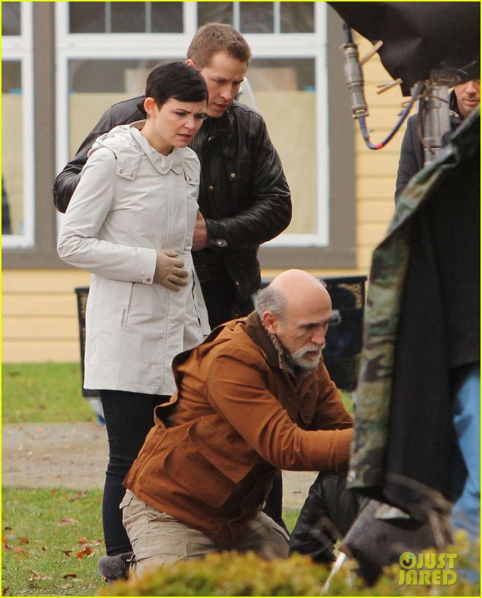 ginnifer goodwin jennifer morrison once upon a time filming 152812819