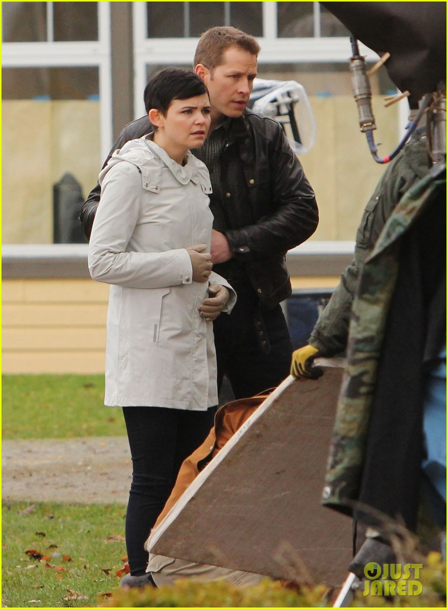 ginnifer goodwin jennifer morrison once upon a time filming 162812820
