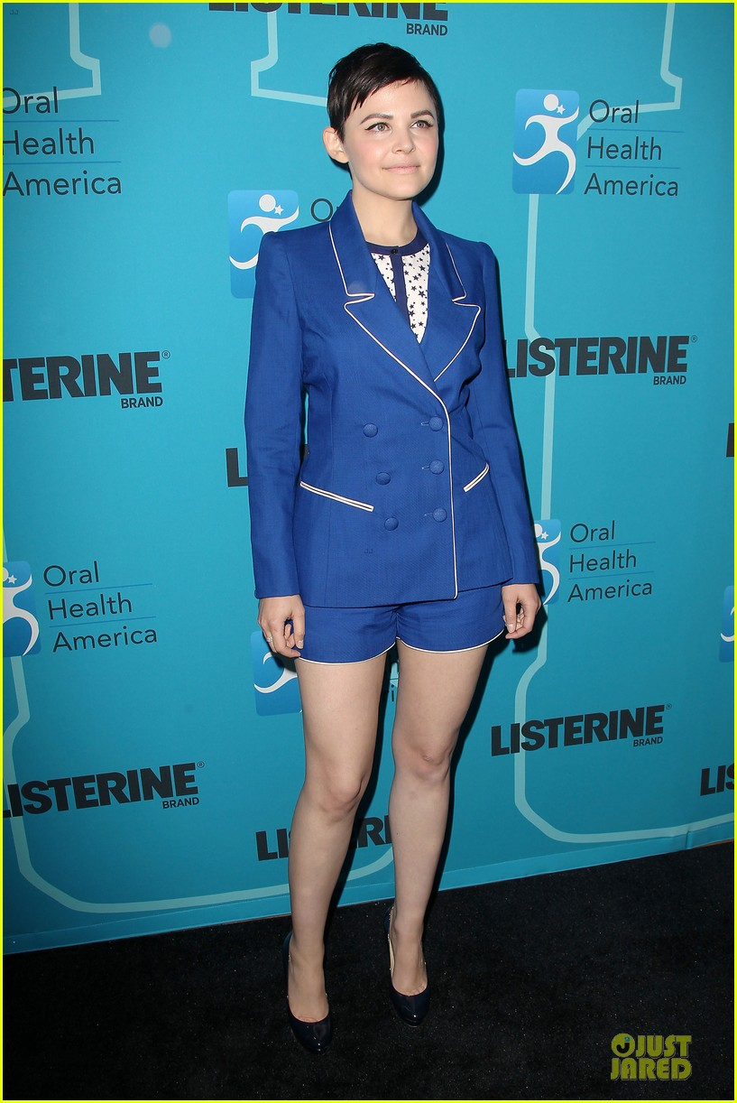ginnifer goodwin listerine 21 day challenge unveiling 092805576