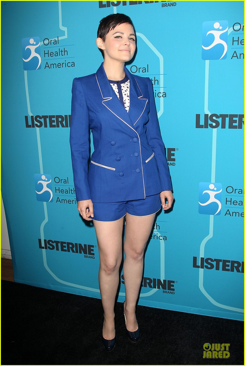 ginnifer goodwin listerine 21 day challenge unveiling 142805581