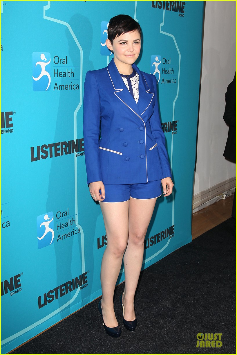 ginnifer goodwin listerine 21 day challenge unveiling 212805588