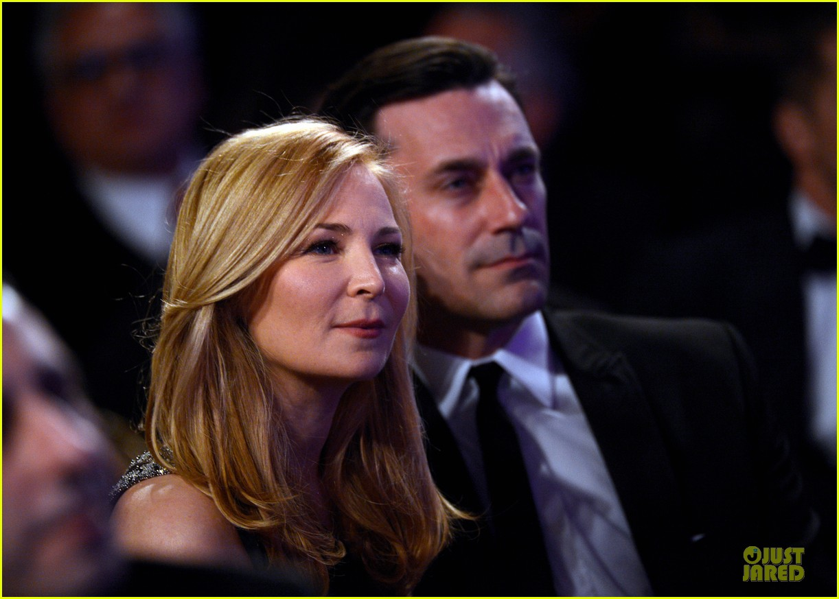jon hamm jennifer westfeldt costume designers guild awards couple 022815584