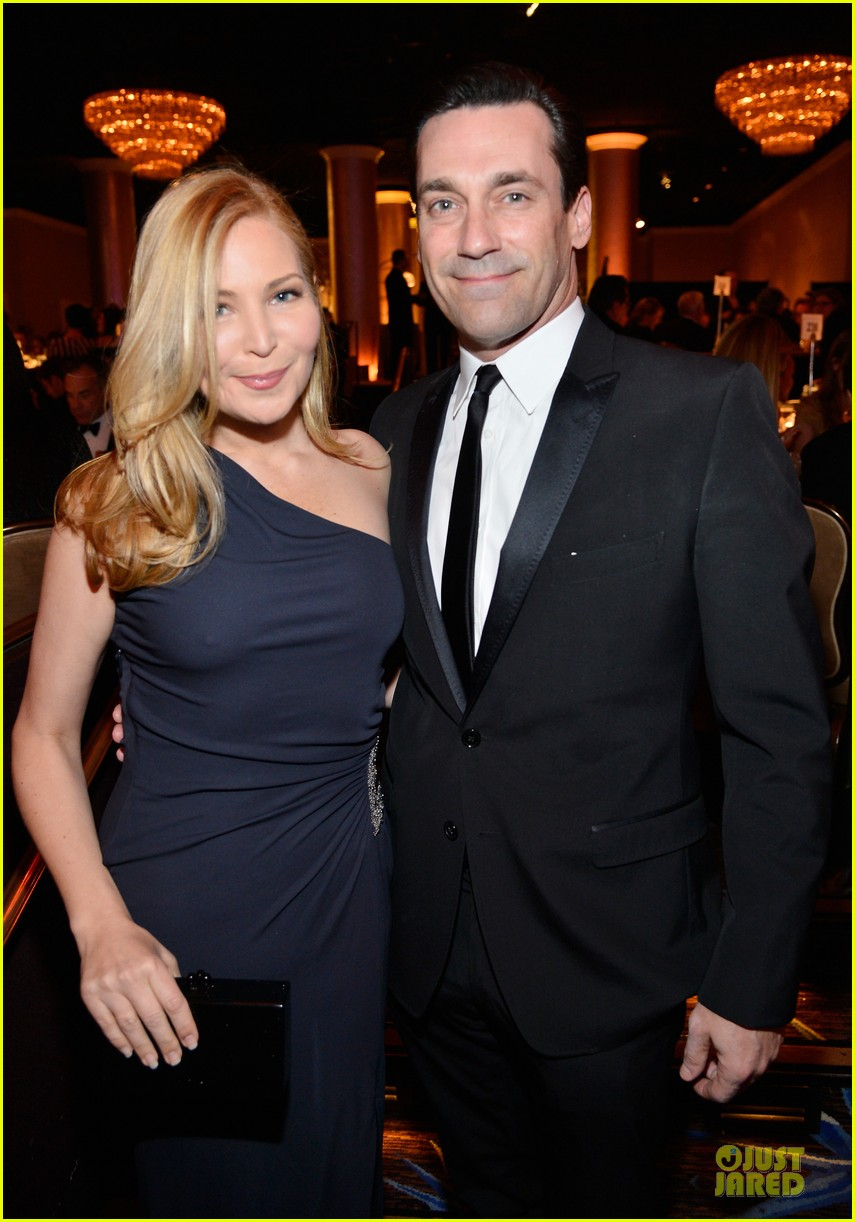 jon hamm jennifer westfeldt costume designers guild awards couple 062815588
