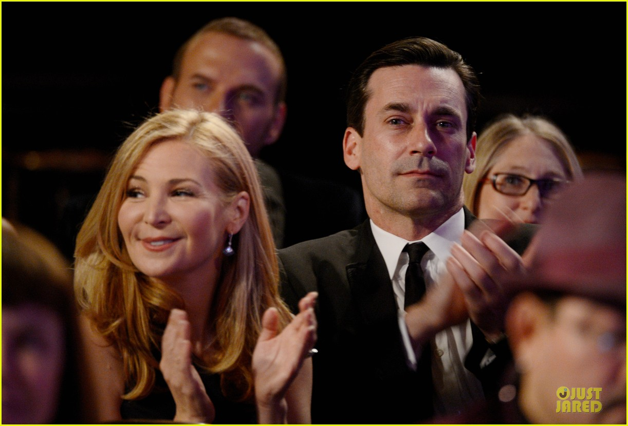 jon hamm jennifer westfeldt costume designers guild awards couple 122815594