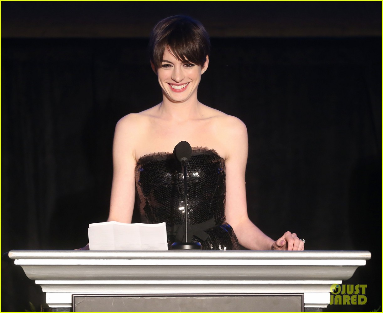 anne hathaway cinema audio society awards 2013 042813771