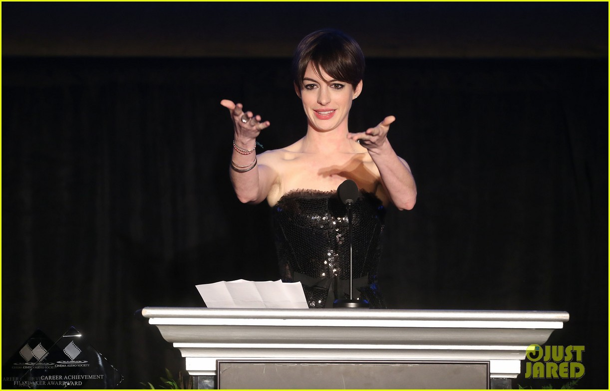 anne hathaway cinema audio society awards 2013 162813783