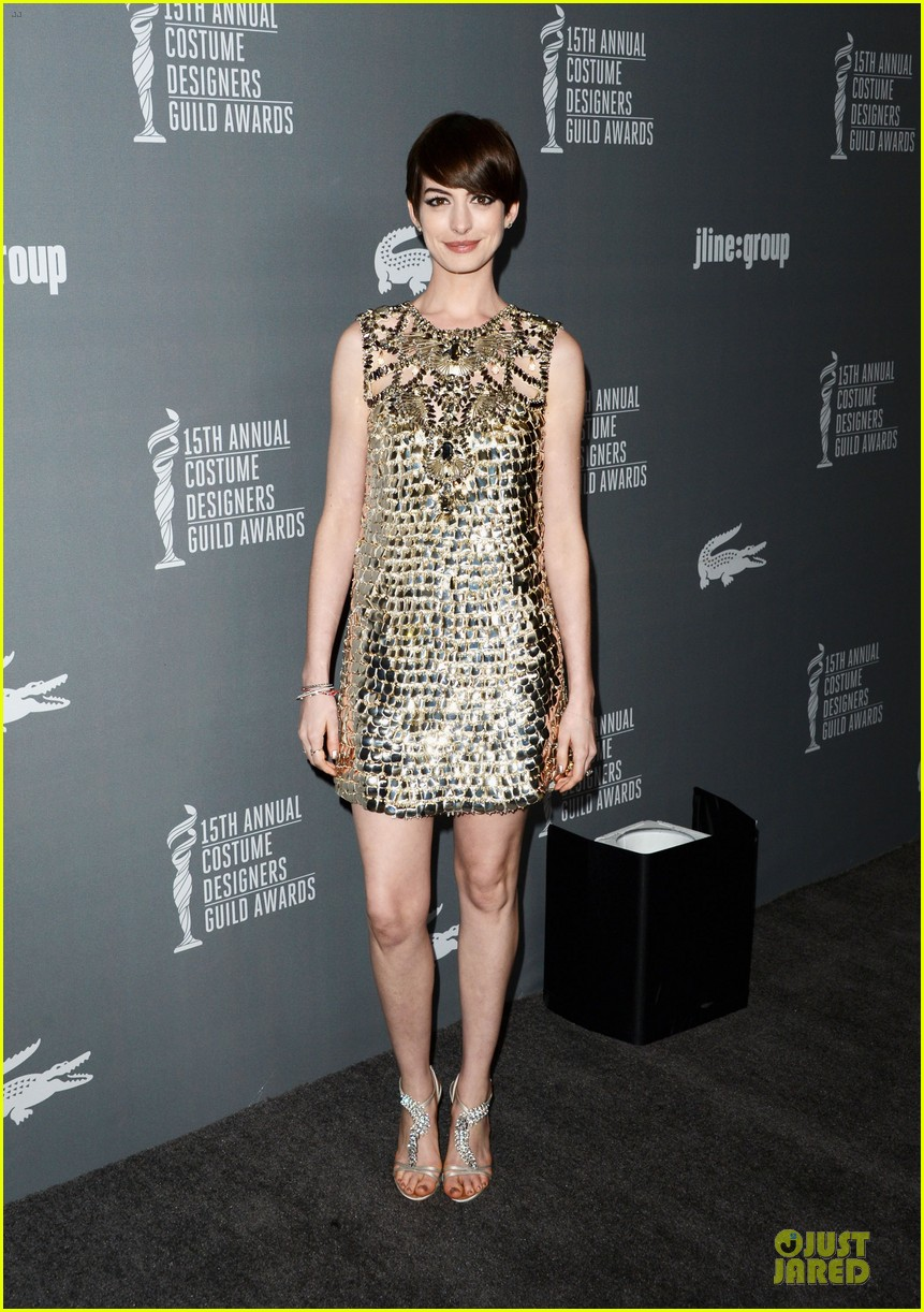 anne hathaway cdg awards 2013 red carpet 052815444