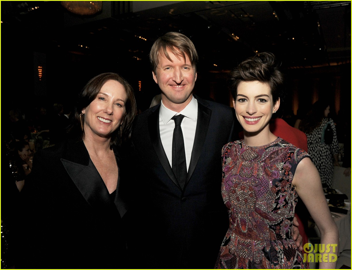 anne hathaway dga awards 2013 with hugh jackman 292803726