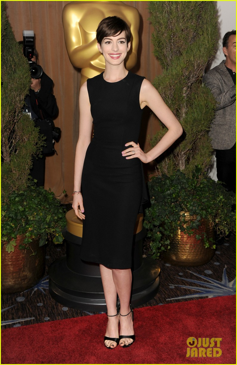 anne hathaway oscar nominees luncheon 2013 022804621