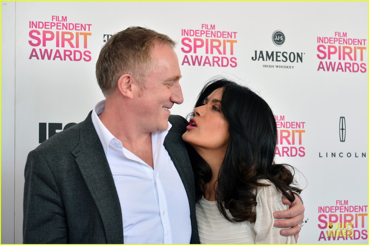 salma hayek francois henri pinault independent spirit awards 2013 02