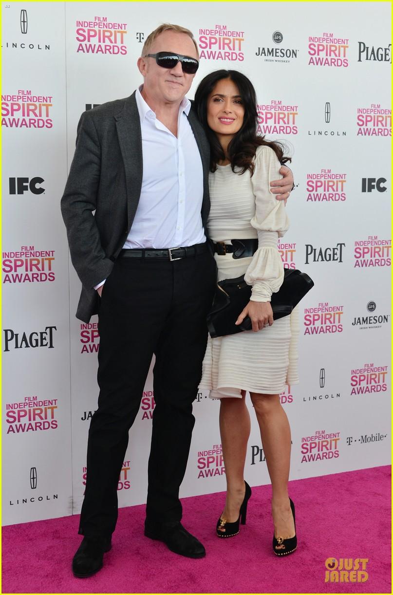 salma hayek francois henri pinault independent spirit awards 2013 03