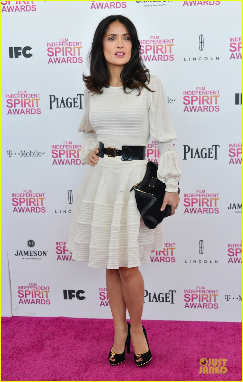 salma hayek francois henri pinault independent spirit awards 2013 052817871