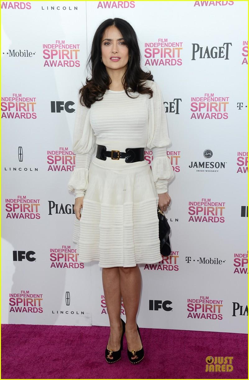 salma hayek francois henri pinault independent spirit awards 2013 072817873