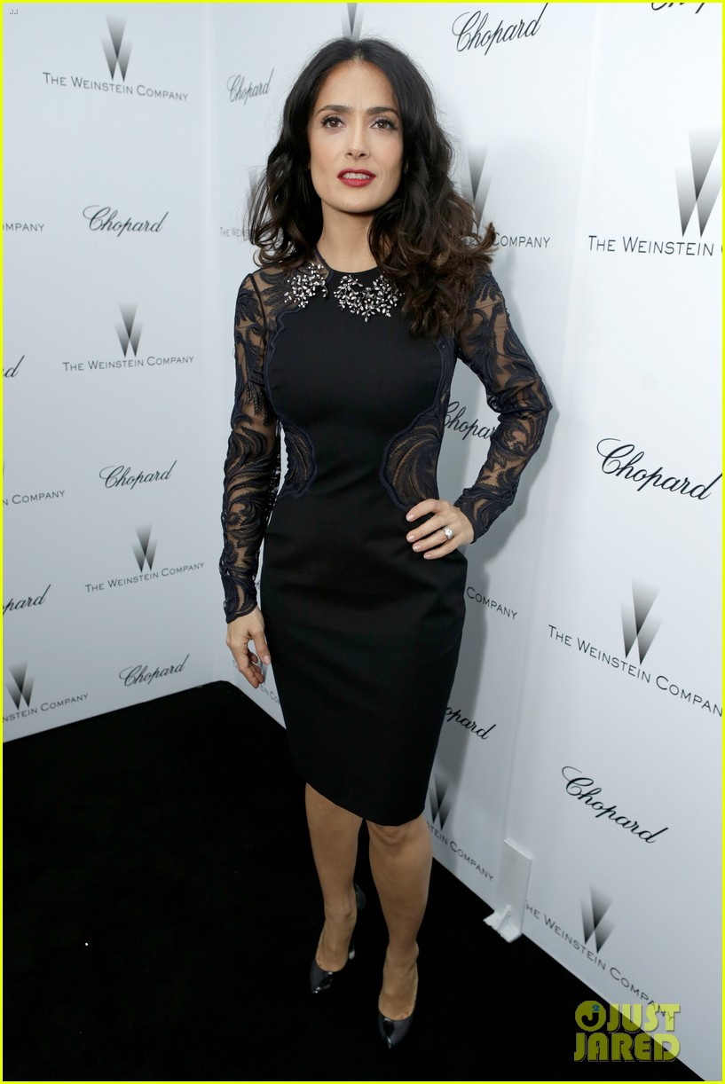 salma hayek weinstein pre oscars party 2013 012818626