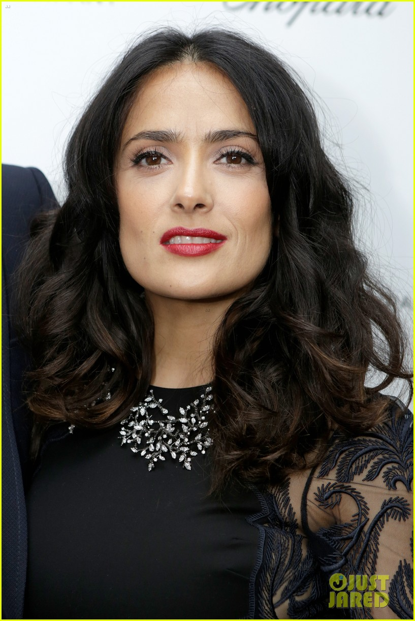 salma hayek weinstein pre oscars party 2013 092818634