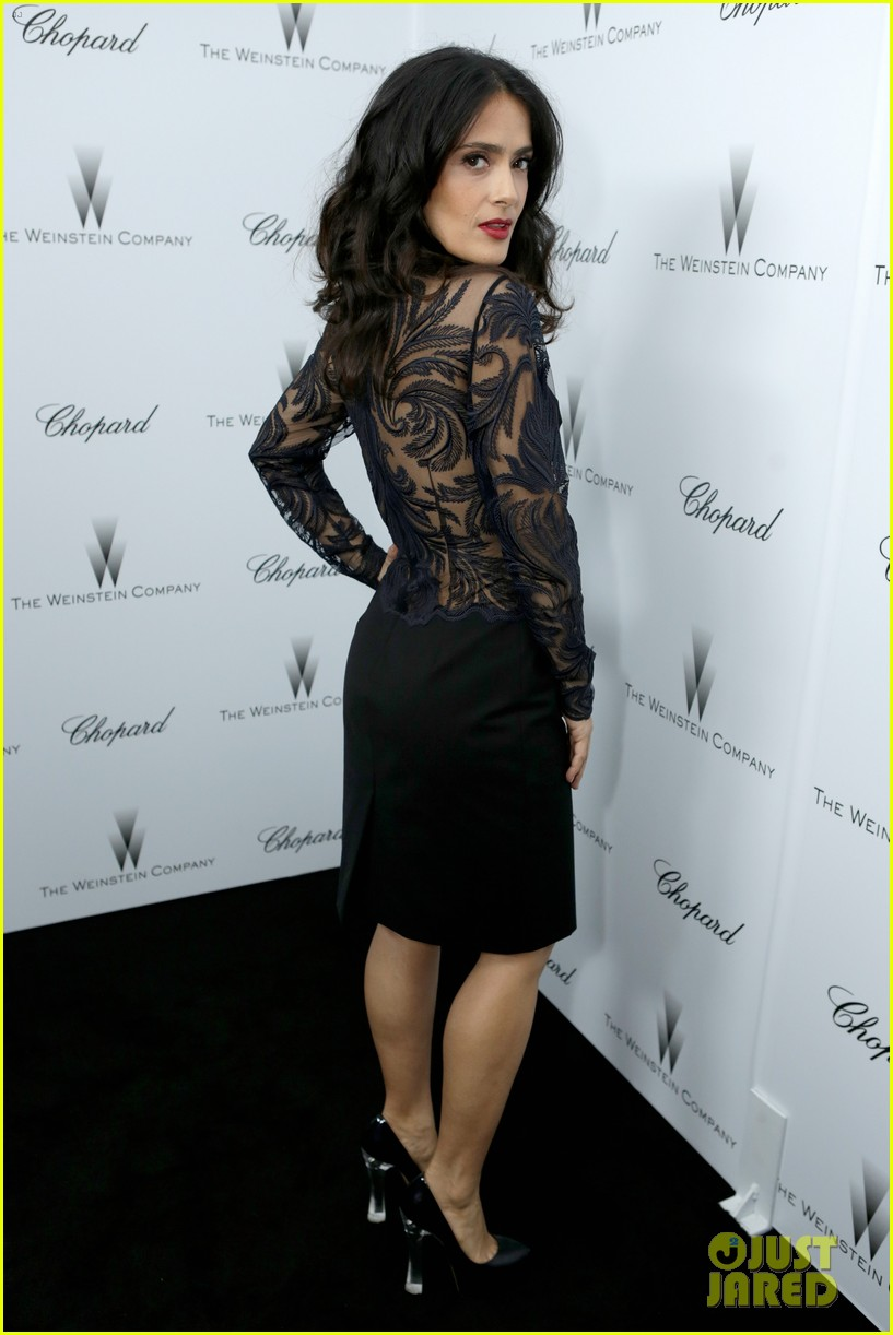 salma hayek weinstein pre oscars party 2013 112818636