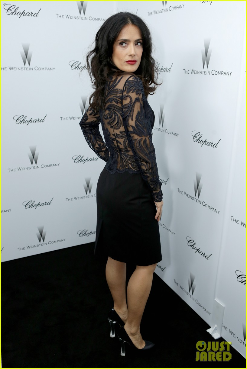 salma hayek weinstein pre oscars party 2013 132818638