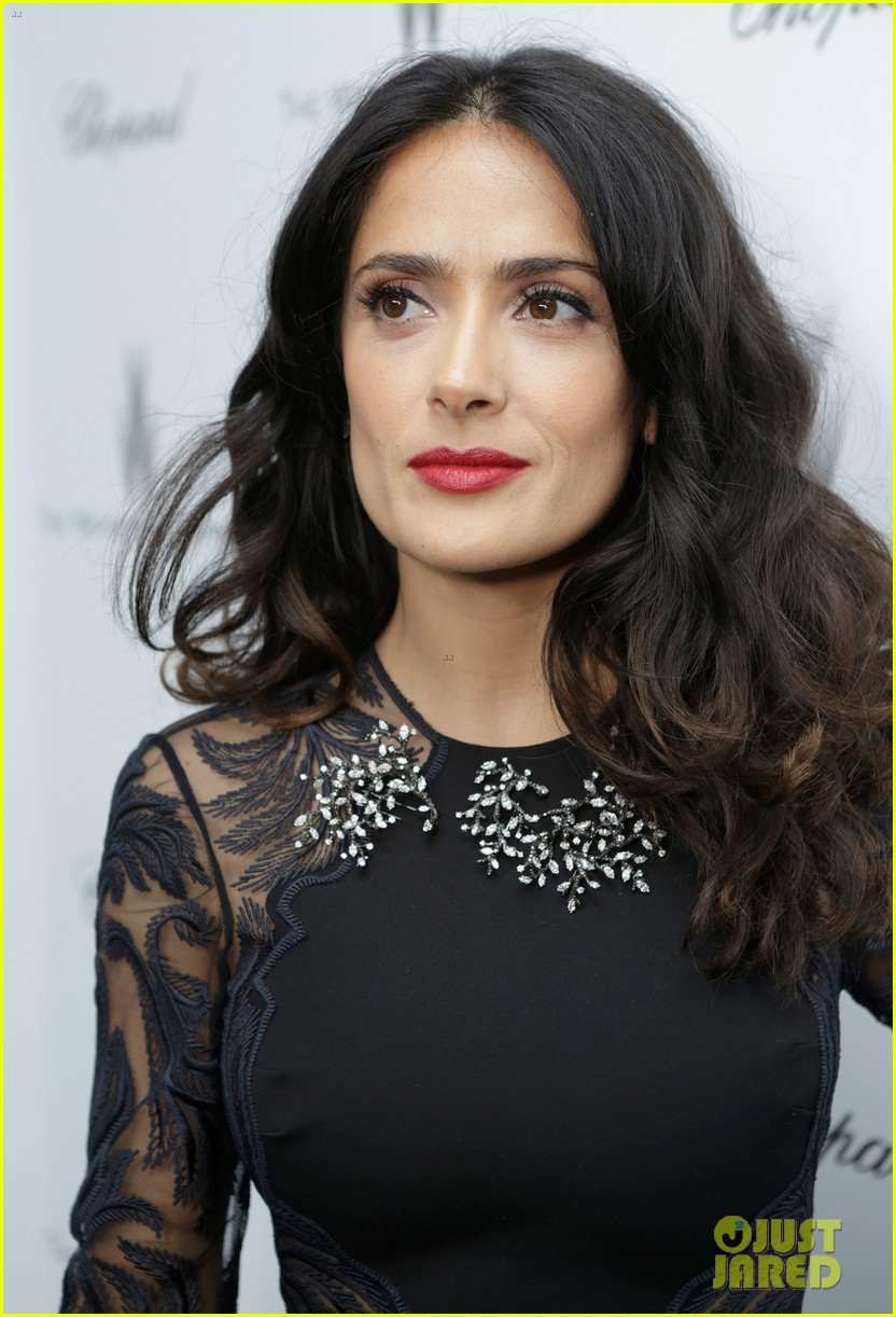 salma hayek weinstein pre oscars party 2013 152818640
