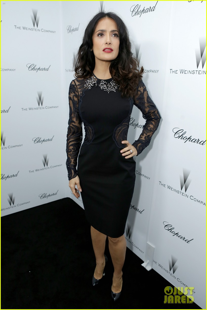 salma hayek weinstein pre oscars party 2013 162818641