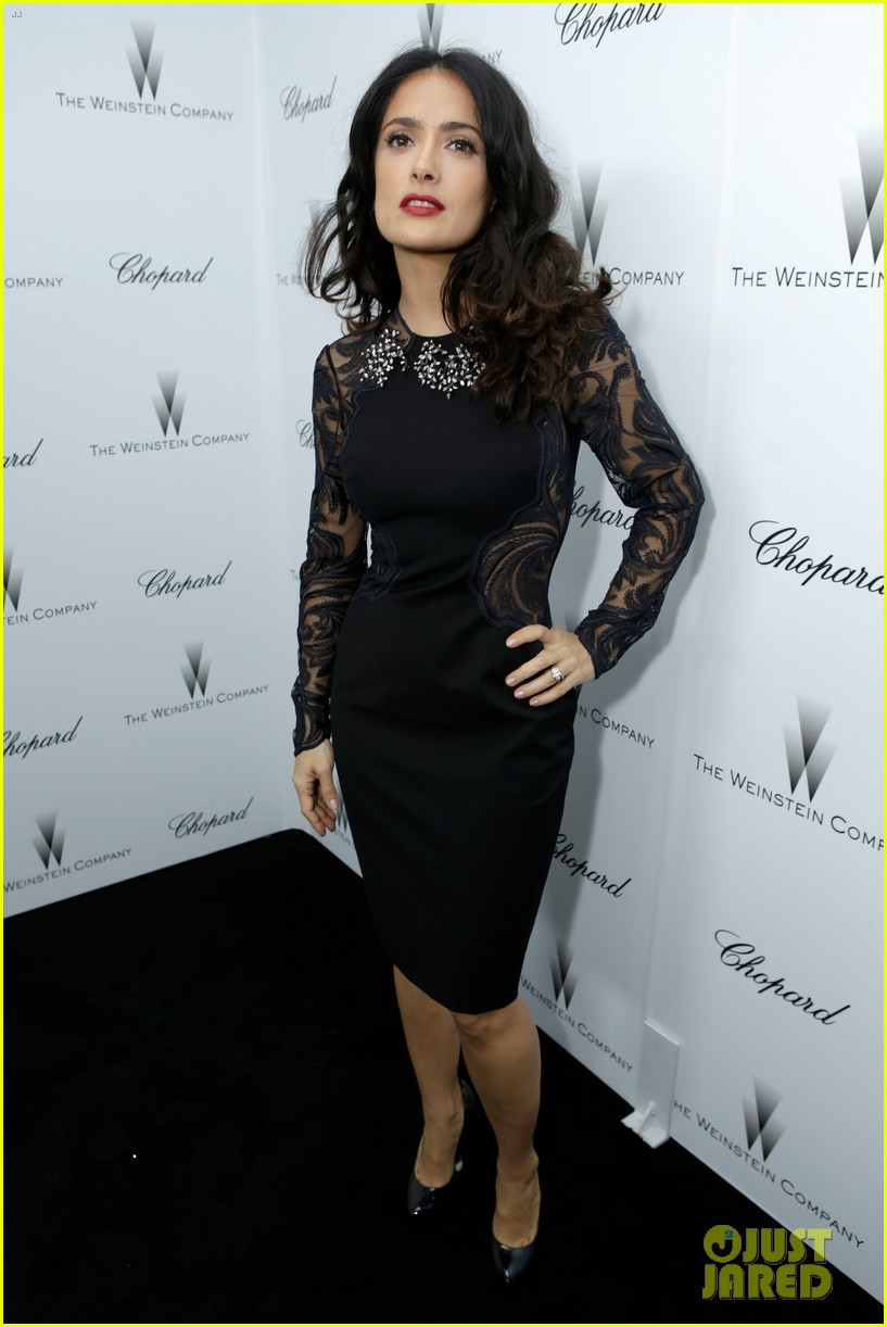 salma hayek weinstein pre oscars party 2013 17