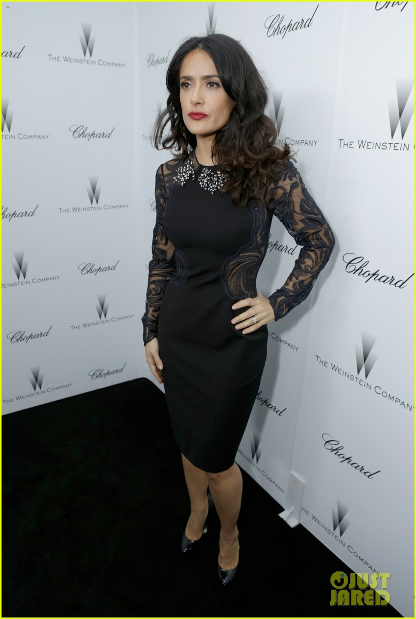 salma hayek weinstein pre oscars party 2013 182818643