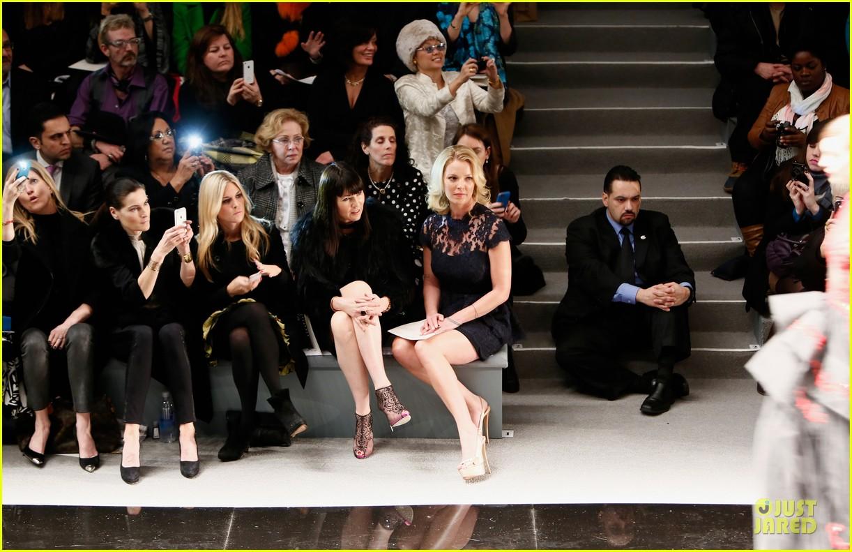 katherine heigl  reem acra fashion show 222810524