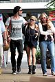 chris hemsworth elsa pataky sydney stroll with india 28