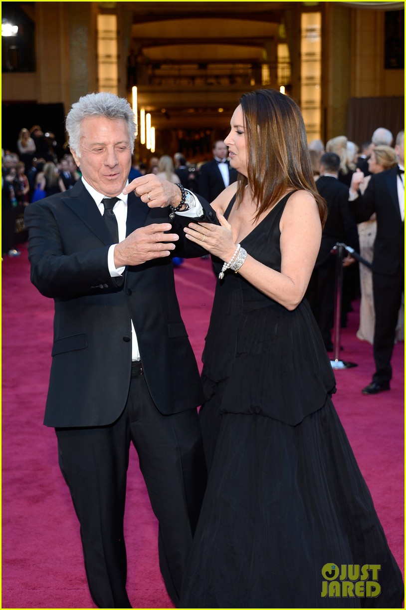 dustin lisa hoffman oscars 2013 red carpet 07
