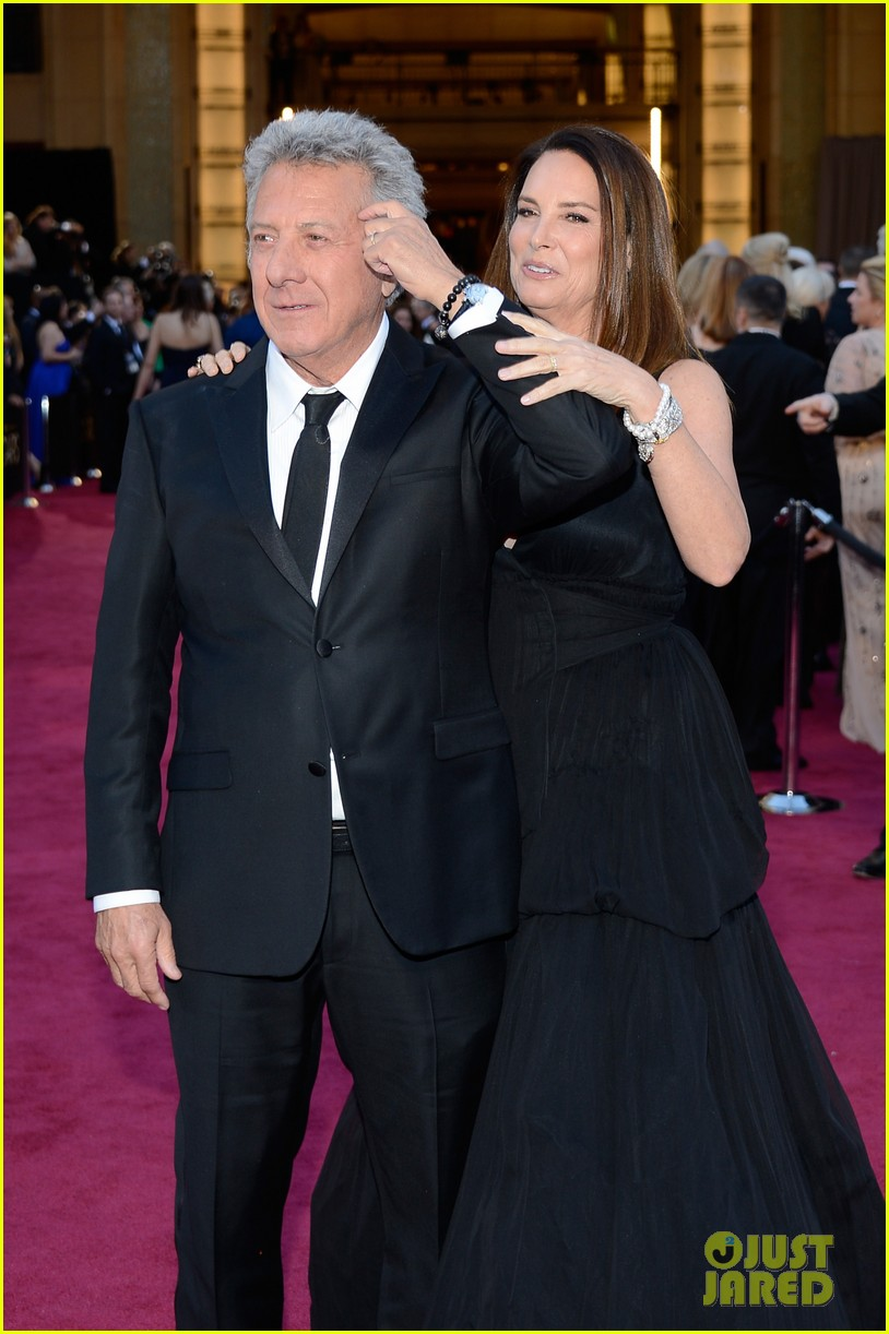 dustin lisa hoffman oscars 2013 red carpet 10