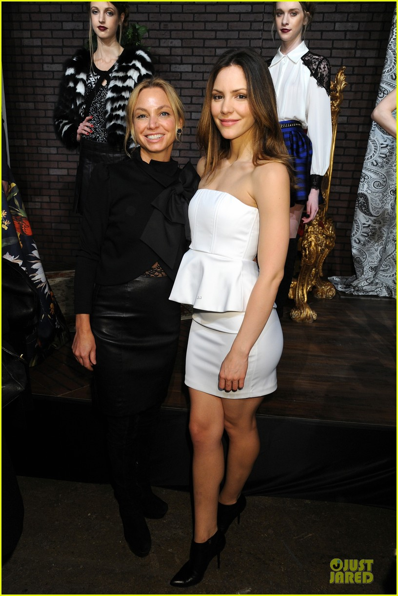 vanessa hudgens katharine mcphee alice olivia fashion show 25