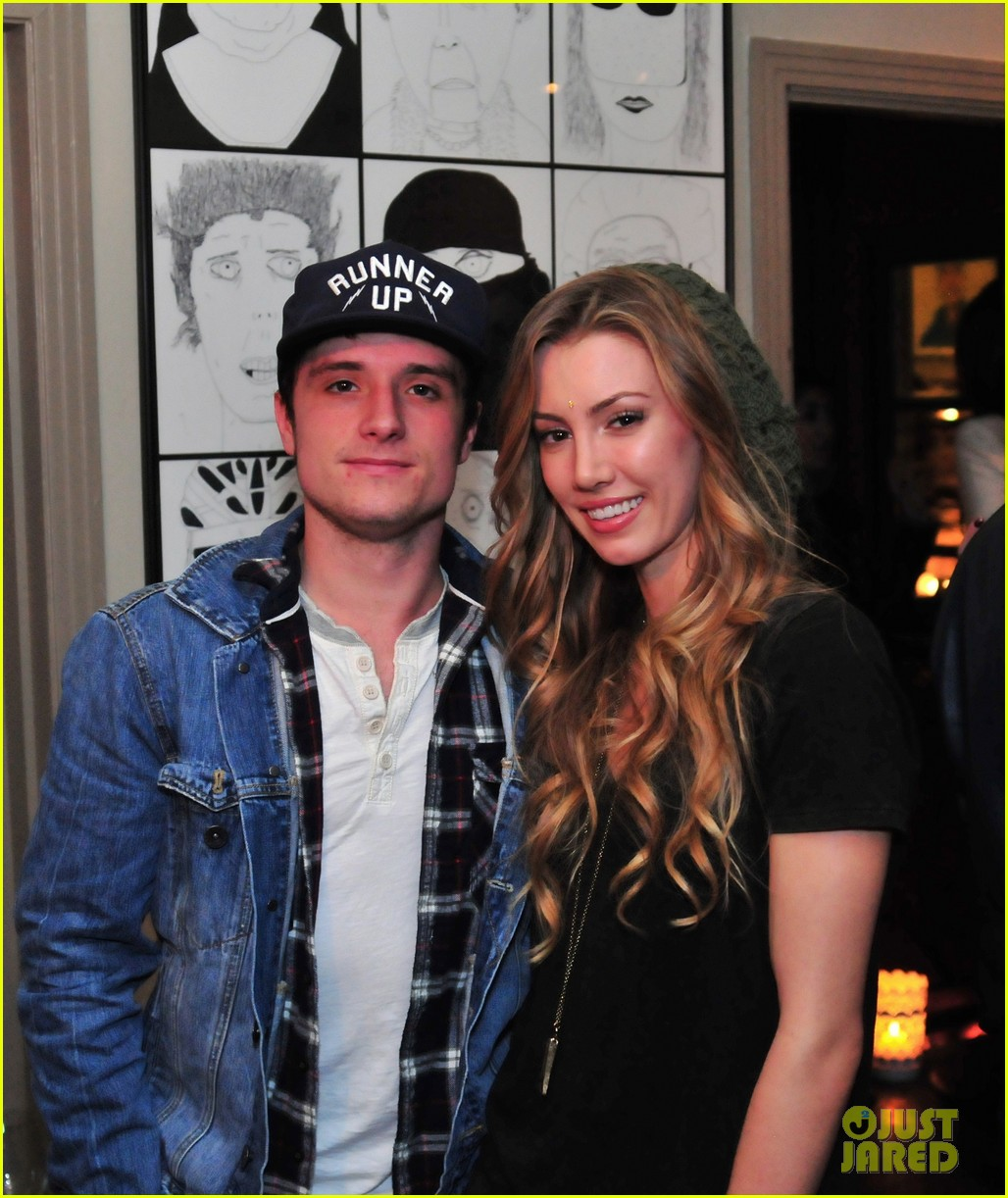 josh hutcherson emile hirsch art show exclusive 022806696
