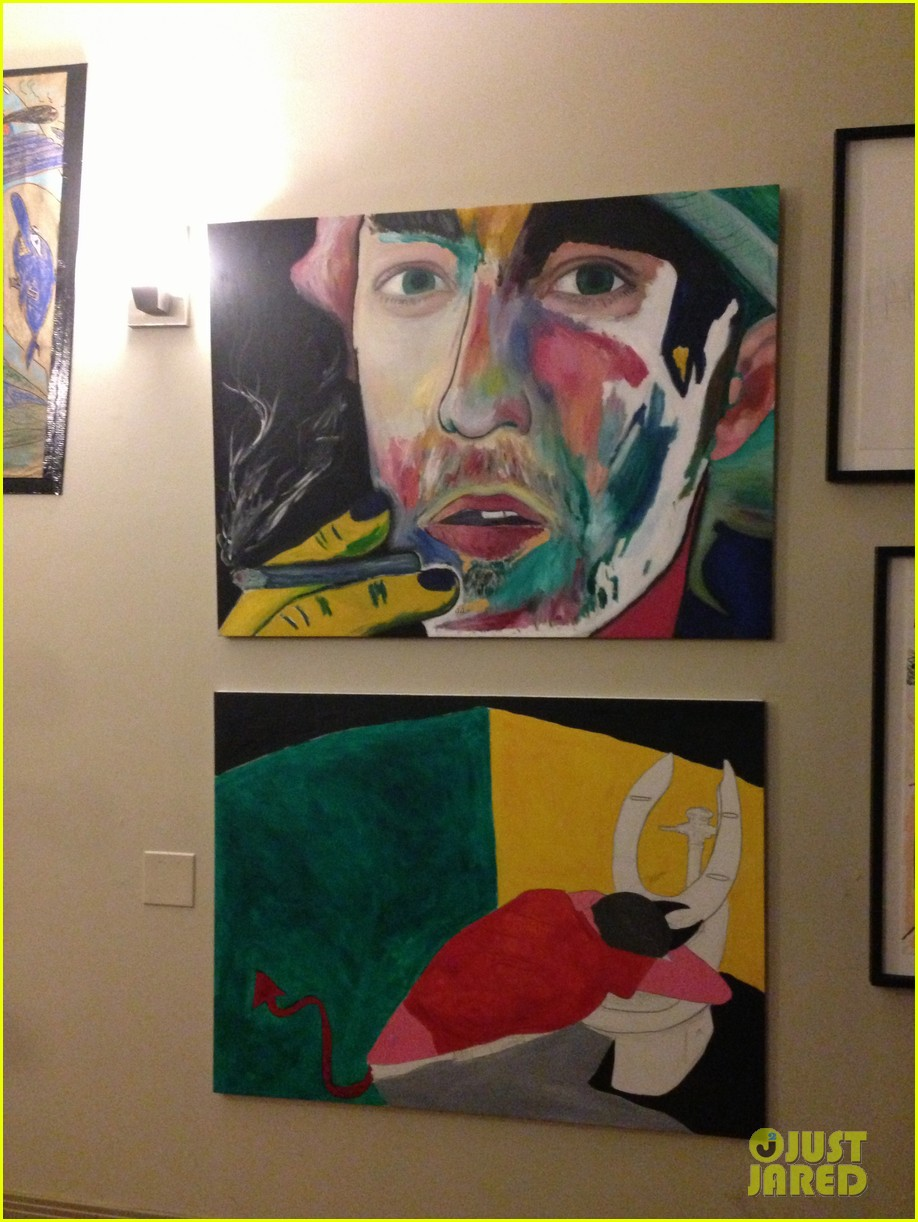 josh hutcherson emile hirsch art show exclusive 02a