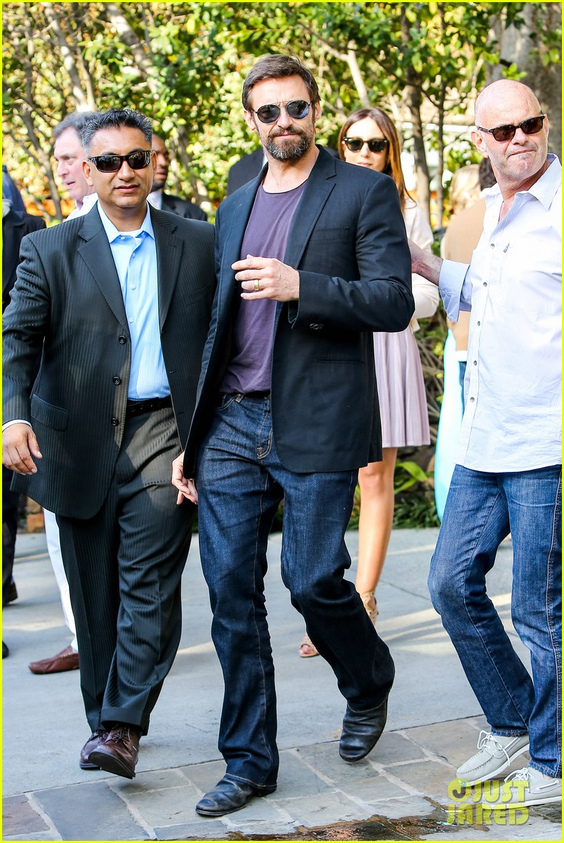 hugh jackman pre oscar party at coldwater canyon park 012818291