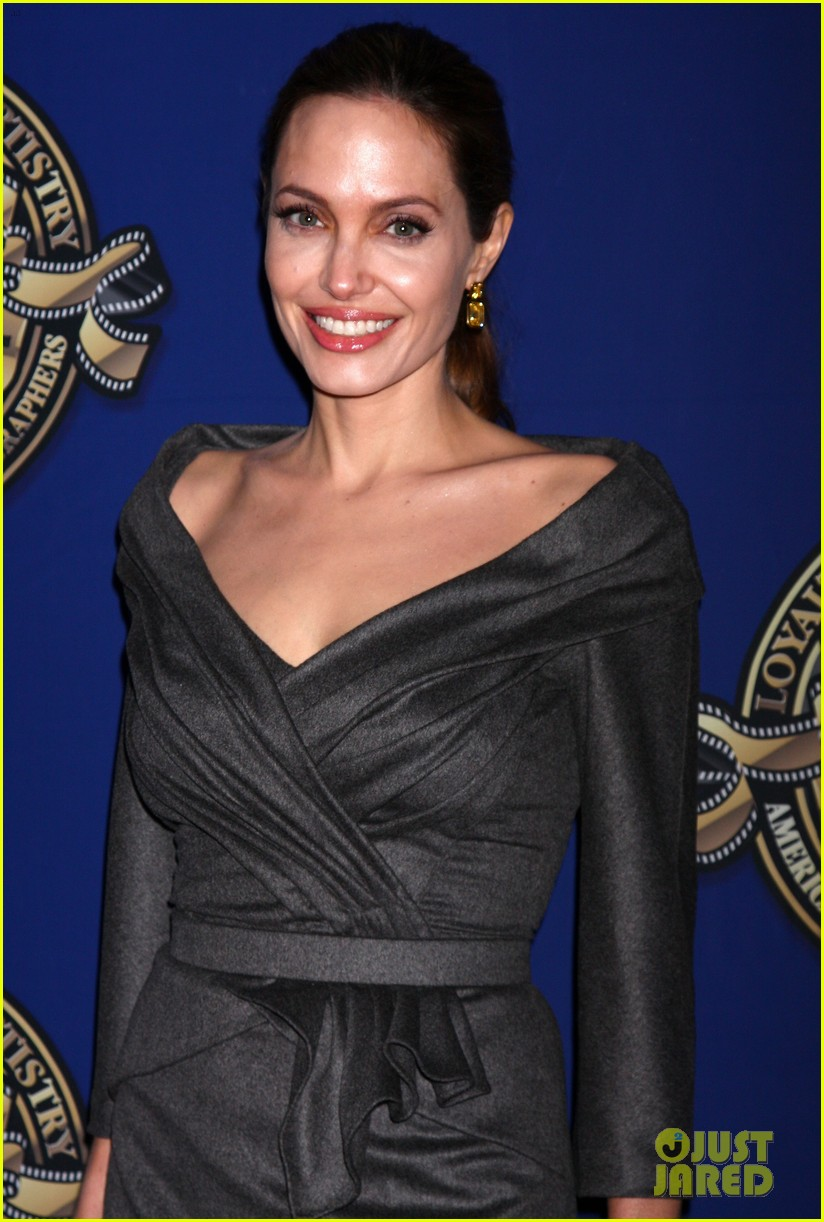 angelina jolie american society of cinematographers awards 022809851