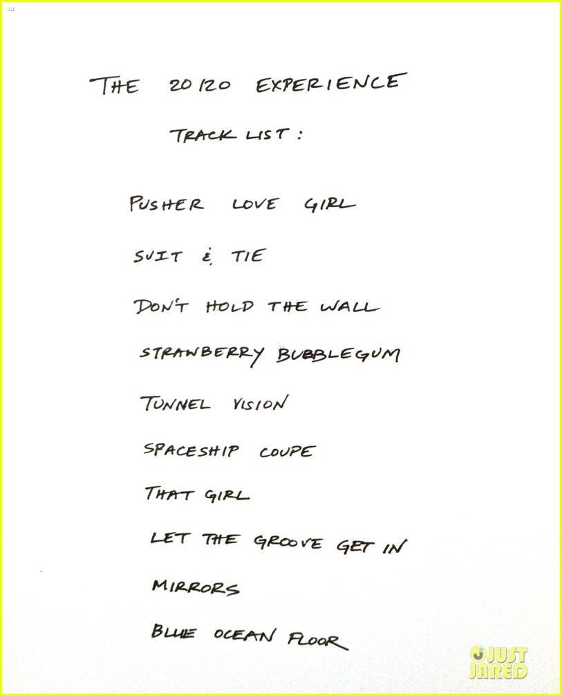 justin timberlake 20 20 experience artwork tracklisting 012806060