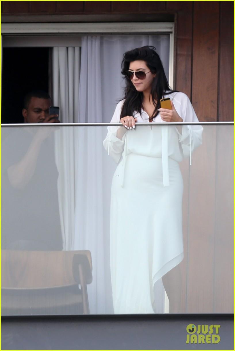 kim kardashian kanye west balcony fun with will smith 182810167
