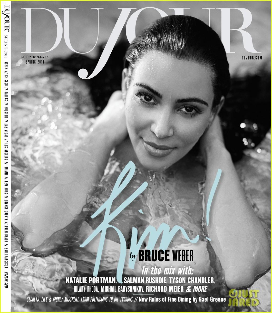 kim kardashian pregnant bikini photo shoot for dujour 012815115
