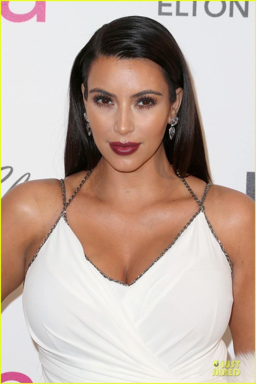 kim kardashian elton john oscars party 2013 042819615