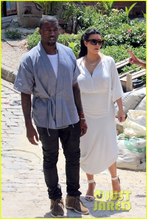 pregnant kim kardashian  kanye west vidigal tour with will smith 052808828