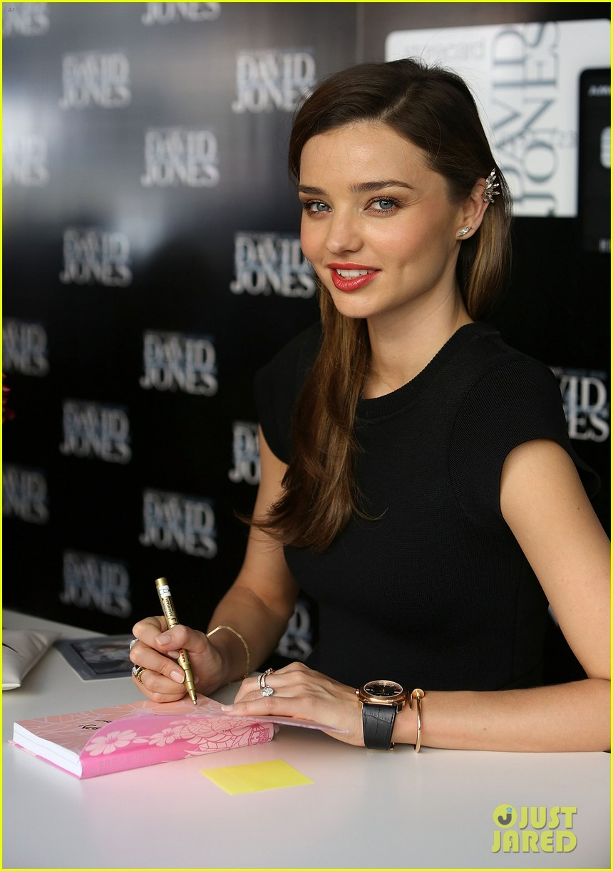 miranda kerr earcuff at david jones fashion workshop 02