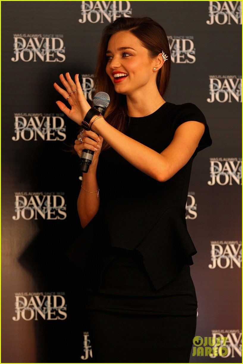 miranda kerr earcuff at david jones fashion workshop 10