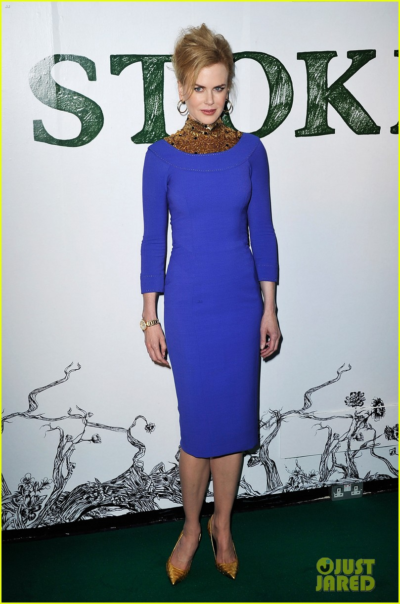 nicole kidman mia wasikowska stoker london screening 012814025